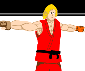 Ken (StreetFighters) T-Pose