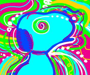 Snoopy Going Through An LSD Trip