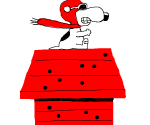 Red Baron from snoopy