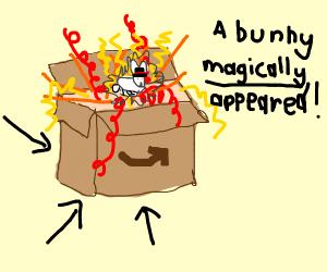 magic cardboard box