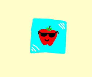 A cool apple