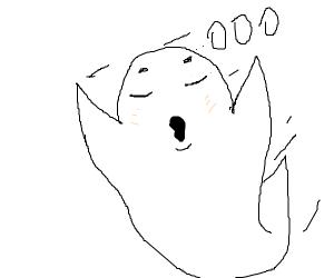 ghost says o o o