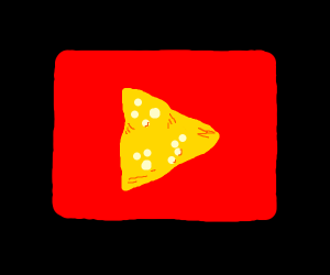 utube but the play button looks like a dorito