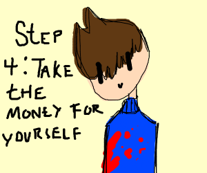 step 3. get back together because she rich