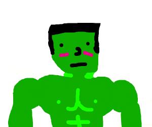 daddy hulk wears underwear :flushed: