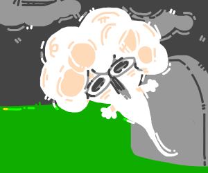 Sr. Pelo's ghost rises from his grave