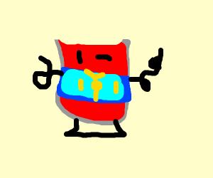 Kool-Aid gives a thumbs up