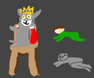 all hail king cat