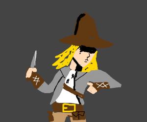 Grave robber Wide-brimmed hat