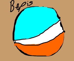 Bepis man (Blue white orange Pepsi Man)
