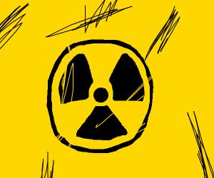 A nuclear logo