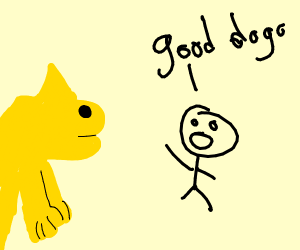 Deevee acts like good doggy