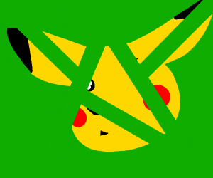 Pikachu in Pieces