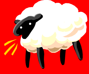 Beep beep I'm a sheep