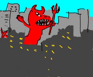 devilish 'za