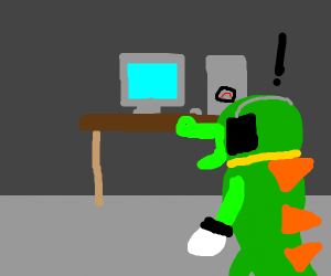 Vector finds the computer room.