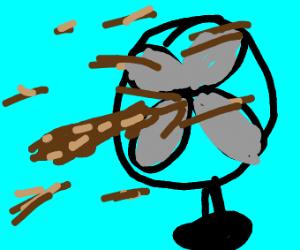 Like a turd in the wind