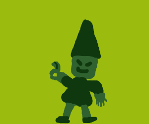 Elf doing okay emoji