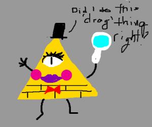 Bill Cipher tries Drag
