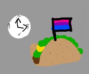 oooof its biselxual taco time