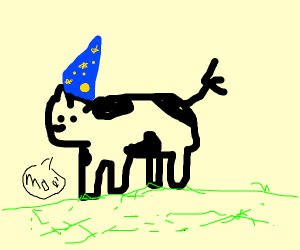 Wizard Cow