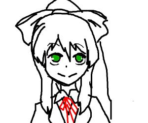 Doki Doki Literature Club, Just Monika