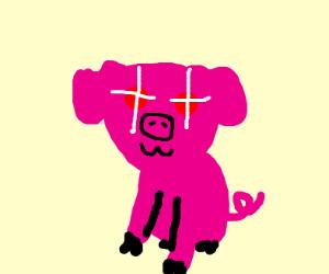 Creepy piglet