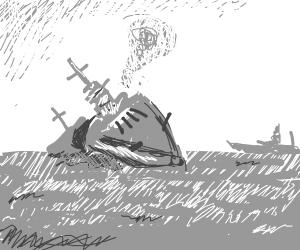 you sunk my battleship!