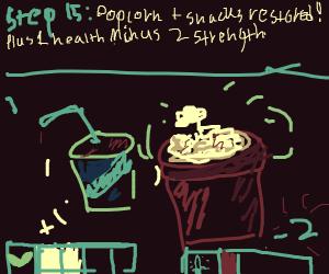 Step 14: Reloading Popcorn& Snacks