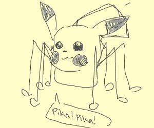 spikachu (spider+pikachu)