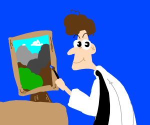 The Joy Of Painting with Doofenshmirtz