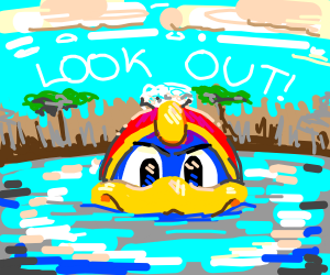 Look out! I think dedede likes you