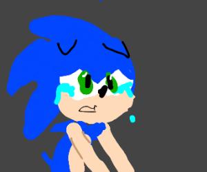 Sonic is a sad boi