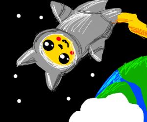 Astronaut pikachu!