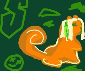 Squirrel goes emo