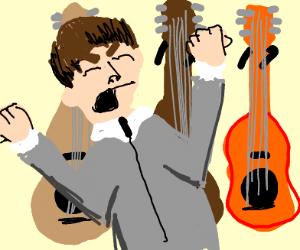 Sir Paul McCartney hates guitars