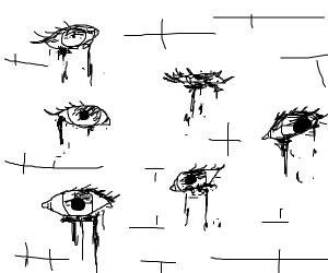 Wall of eyes