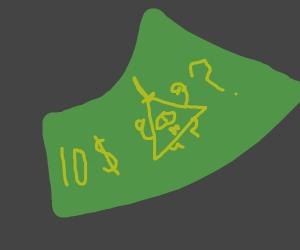 10 dollar mystery bill