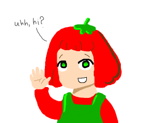 GenmaiChai's Tomato-Girl