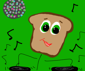 toaster head DJ