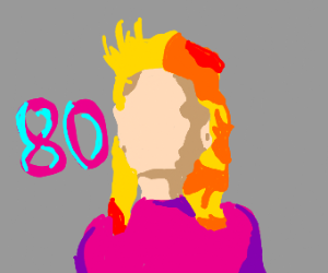 80s pop star