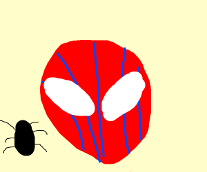 Annoyed Spider-Man