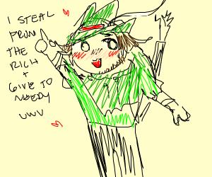 Cute Robin Hood