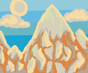beautiful mountain land
