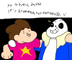 steven universe asked sans on a date