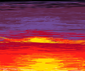 Sunset but with alot of lines