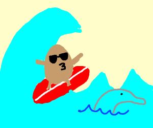 potato surfing