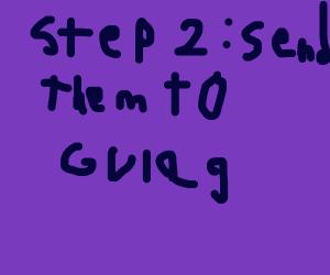 Step 1: communism