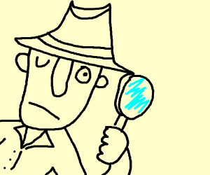 Inspector Researching