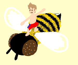 Bee Surfing